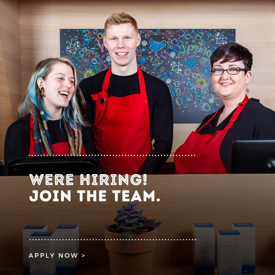 Join our Team Graphic Nourish
