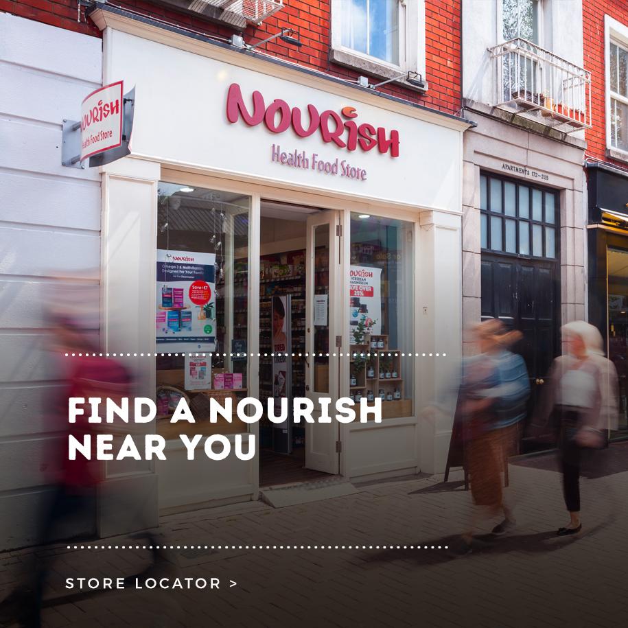 Nourish Liffey Street Shop Front Graphic
