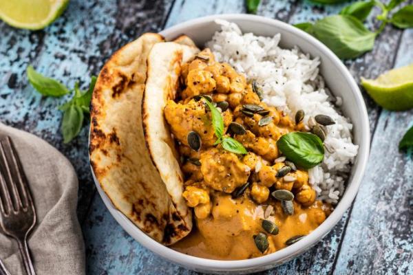 Peanut Chickpea Curry