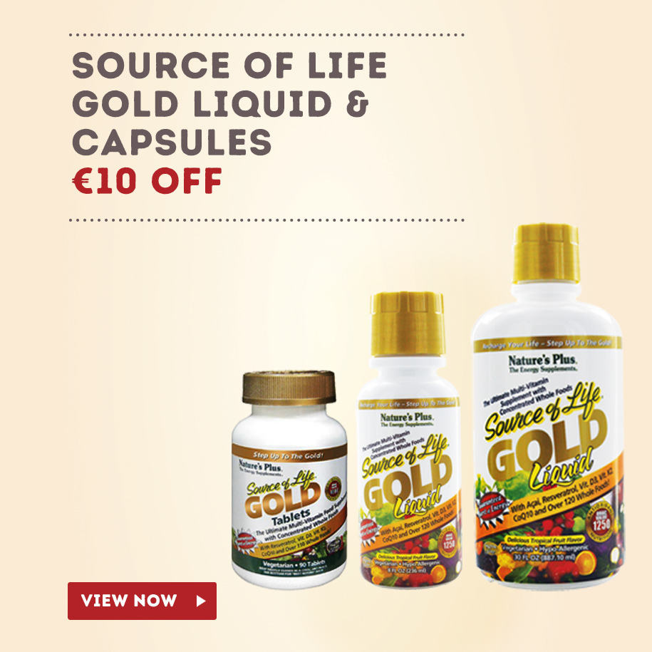 Source of Life Gold Special Offer Graphic Nourish