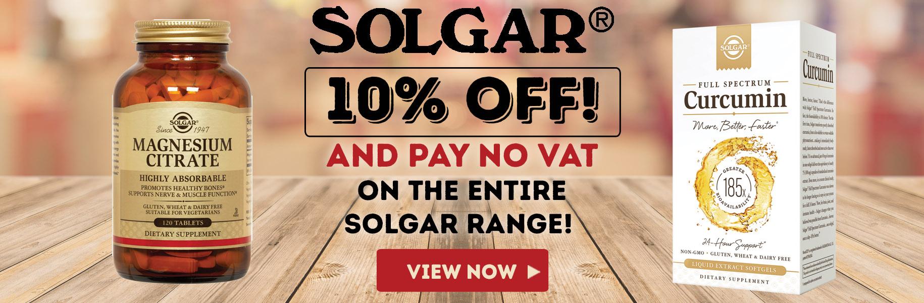 Solgar Sale