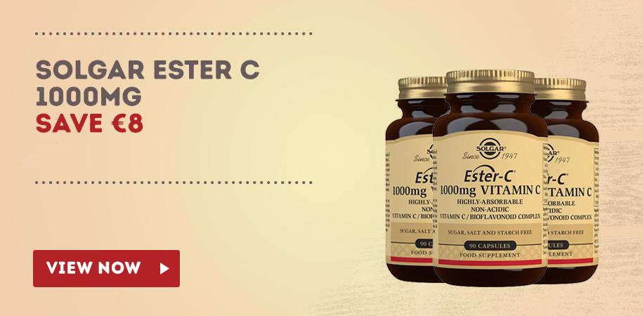 Solgar Ester C Special Offer Graphic Nourish