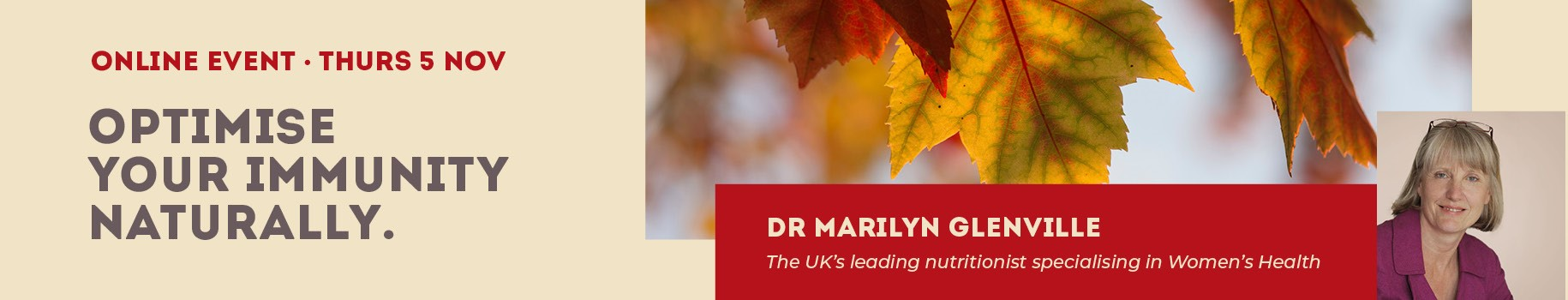 Dr Marylin Glenville