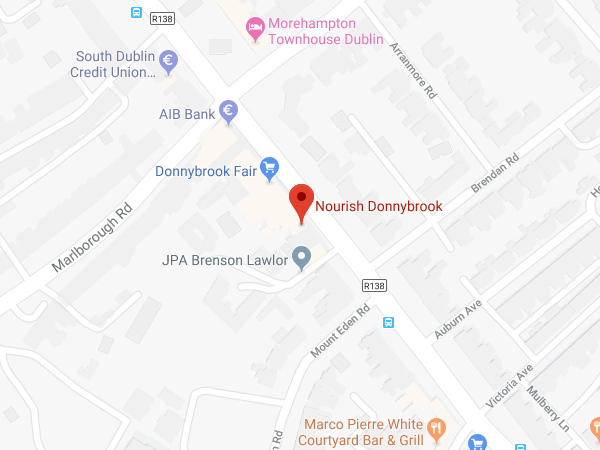 Nourish Donnybrook location map