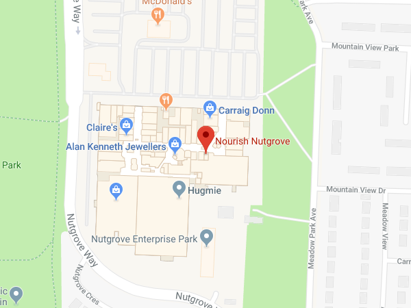 Nourish Nutgrove Shopping Centre location map