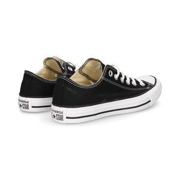 CONVERSE ALL STAR OX LACE TRAINER - BLACK WHITE