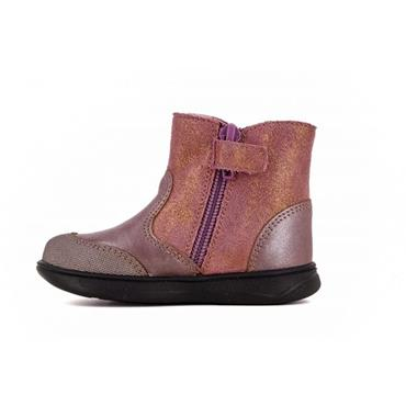 PABLOSKY GIRLS BUTTERFLY ZIP BOOT - ROSE