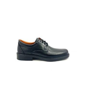 LUISETTI MENS COM PLAIN TOE LACE SHOE - BLACK