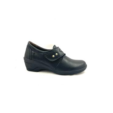 LUISETTI WOMENS VELCRO STRAP HI CUT SHOE - BLACK