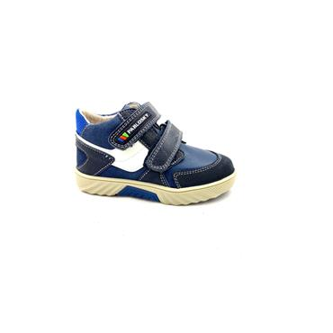 PABLOSKY BOYS 2 VEL STRAP ANKLE BOOT - NAVY