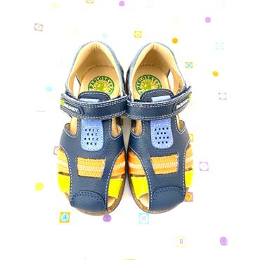 PABLOSKY BOYS VELCRO CLOSED IN SANDAL - NAVY