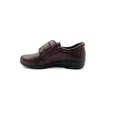 ALPINA WOMENS ALPITEX VELCRO STRAP SHOE - BORDO