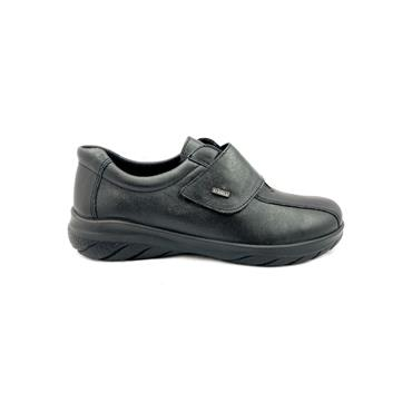 ALPINA WOMENS ALPITEX VELCRO STRAP SHOE - BLACK