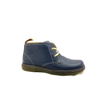 DR MARTENS WOMENS 2 EYE LACE BOOT - DRESS BLUES