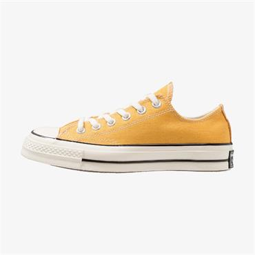 CONVERSE MENS CHUCK 70 OX LACE TRAINER - SUNFLOWER