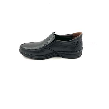 LUISETTI GTS COM STITCH SLIP ON SHOE - BLACK