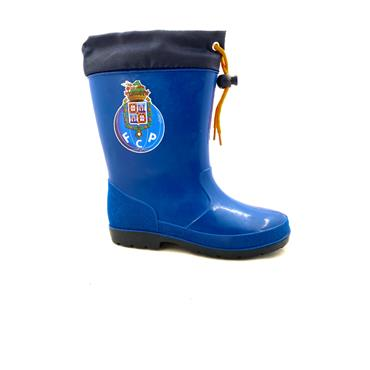 BEPPI BOYS PULL CORD WELLINGTON - BLUE NAVY