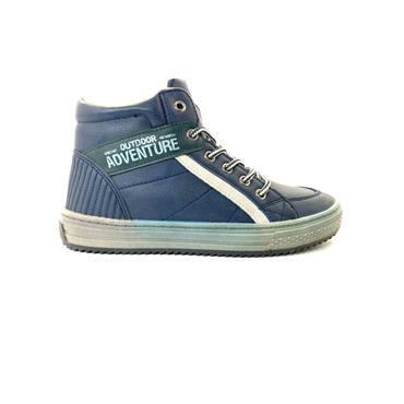 SPROX BOYS ZIP TIE ANKLE BT - NAVY GREY