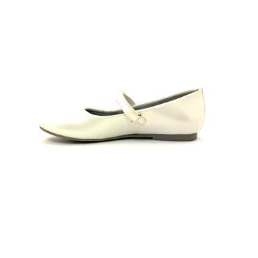 LEA LELO STRAP SHOE - WHITE