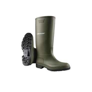 Dunlop Basic Welly - GREEN BLACK