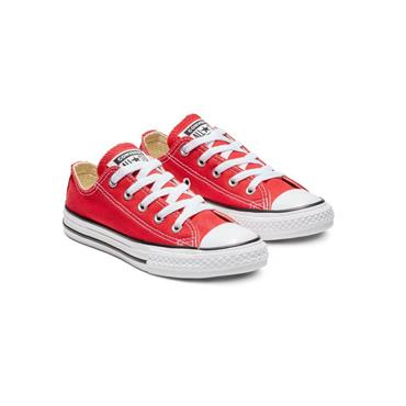 CONVERSE KIDS CT ALL STAR LACE TRAINER - RED