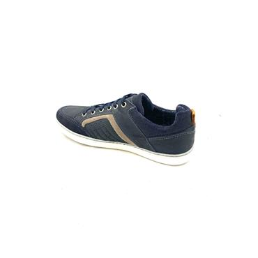 OLIVER FUREY GTS CASUAL TIE SHOE - NAVY GREY