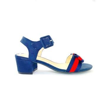 SPROX LDS ANKLE COLLAR STRAP SANDAL - NAVY RED