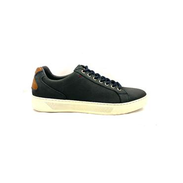 OLIVER FUREY MENS CASUAL LACE SHOE - NAVY BLACK