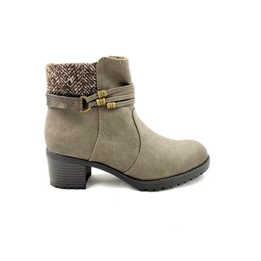 SPROX LDS ZIP ANKLE BOOT - TAUPE
