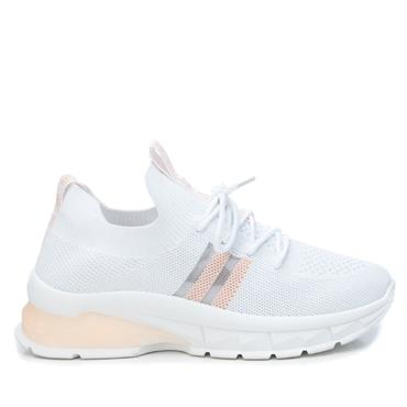 XTI WOMENS LACE TRAINER - NUDE