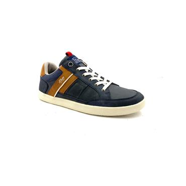 S OLIVER MENS CASUAL LACE SHOE - NAVY