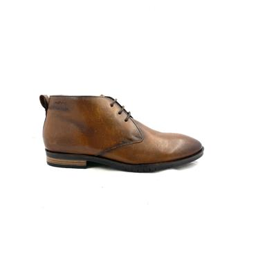 S OLIVER GTS 3 EYE TIE ANKLE BOOT - COGNAC