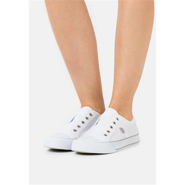 S OLIVER WOMENS CHUNKY LACE TRAINER - WHITE