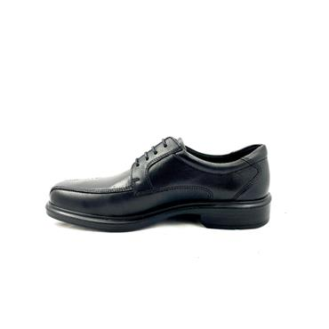 ECCO MENS DRESS HELSINKI LACE SHOE - BLACK