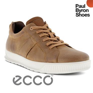 ECCO MENS BYWAY LACE SHOE - CAMEL