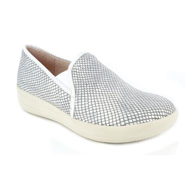 DR CUTILLAS LDS WEDGE SLIP ON SHOE - WHITE
