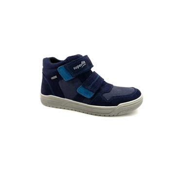 SUPERFIT KIDS GORETEX VEL STRAP ANKLE BT - NAVY MULTI