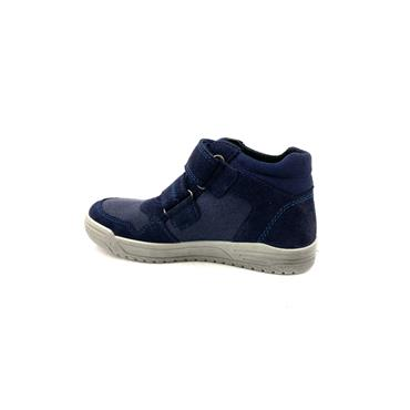 SUPERFIT KIDS GORETEX VELCRO ANKLE BOOT - NAVY MULTI