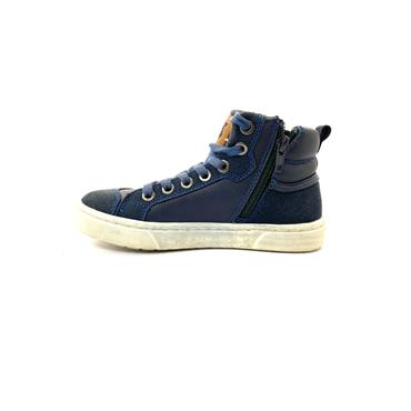 XTI BOYS ANKLE LACE BOOT - NAVY