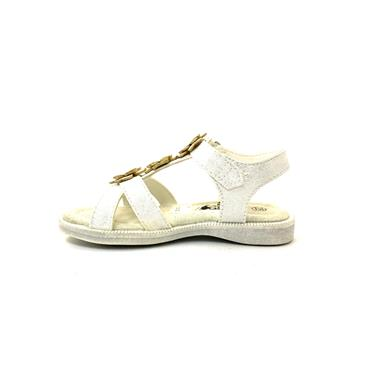 XTI GIRLS VEL STRAP FLOWER SDL - WHITE