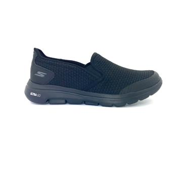 SKECHERS GTS SLIP ON GO WALK 5 RUNNER - BLACK