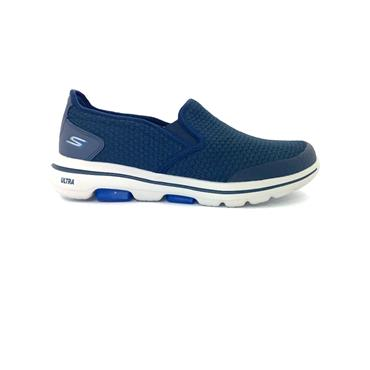 SKECHERS GTS SLIP ON GO WALK 5 RUNNER - NAVY