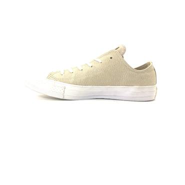 CONVERSE WOMENS CTAS OX LACE TRAINER - PALE PUTTY
