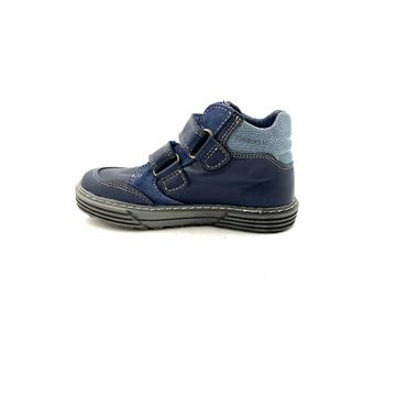 PABLOSKY BOYS 2 VEL STRAP ANKLE BT - NAVY BLUE
