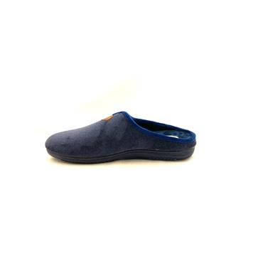NATALIA MENS SLIP ON SLIPPER - NAVY