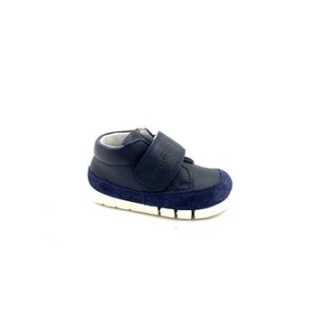 SUPERFIT KIDS VEL STRAP ANKLE BOOT - NAVY