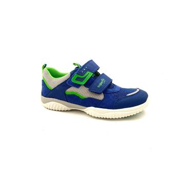 SUPERFIT BOYS 2 VEL STRAP RUNNER - BLUE/GREEN