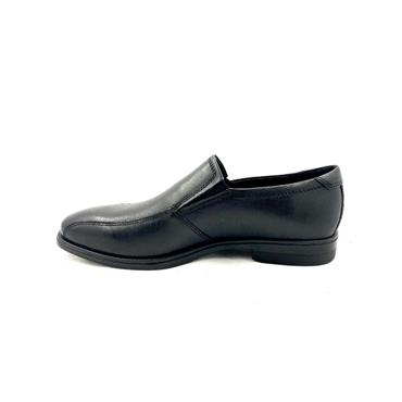 ECCO MENS DRESS SLIP ON SHOE - BLACK