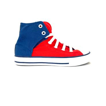 CONVERSE CT EASY ON HI - NAVY RED