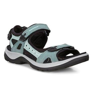 ECCO WOMENS OFF ROAD SANDAL - LIGHT BLUE